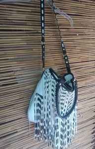 Steve Madden Black White Zebra Bag